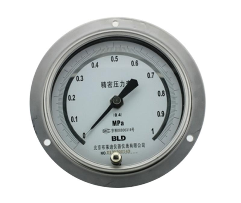 YB-150.AO.200系列全不锈钢精密压力表