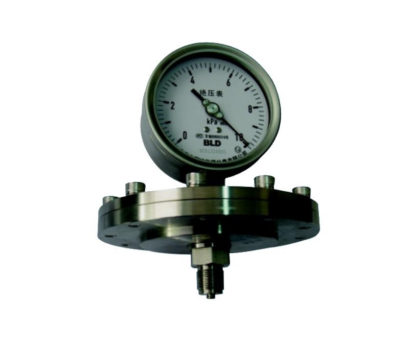 JBH系列全不锈钢膜片式绝压表