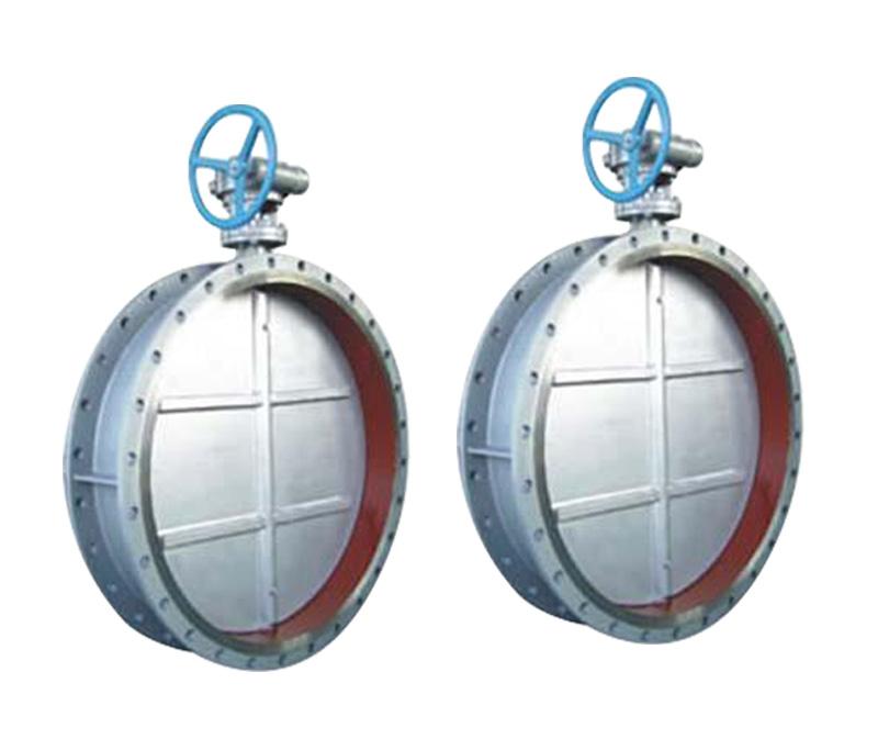 D341H蜗轮法兰中心垂直板金属硬密封铸钢通风蝶阀