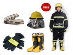 LST02款橡胶隔热灵活轻便消防服