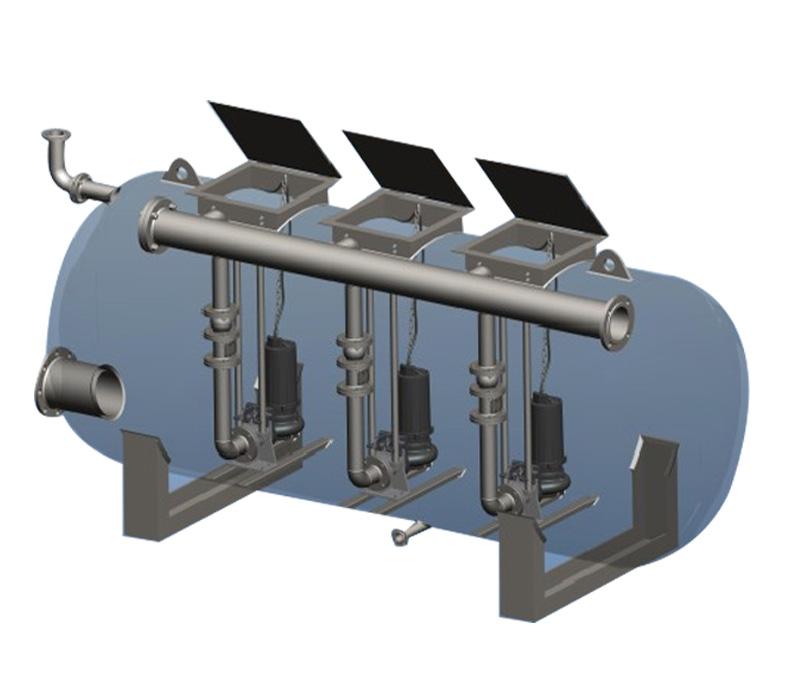 BWT-N3卧式/立式大型污水提升设备
