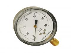 YN-100B耐震不锈钢压力表
