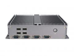控汇(eip)BOX-207无风扇静音工控嵌入式工控机 双核1.8G