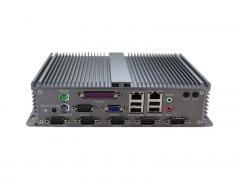 控汇(eip)BOX-D2550无风扇静音嵌入式工控机 双核1.86G