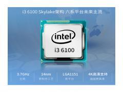 Intel 酷睿i3双核 1151插口 微星主板 1G/2G独显 商用办公型