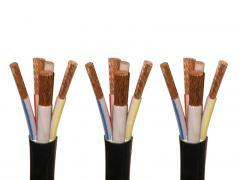 YJV铜导体交联聚乙烯绝缘聚氯乙烯护套中压电力电缆