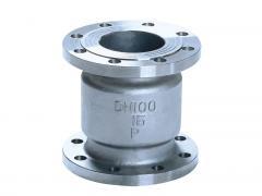 H42W国标手动法兰立式不锈钢止回阀