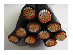 ZC-KVVP铜导体聚氯乙烯铜丝编织屏蔽阻燃C类控制电缆