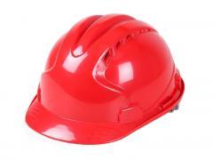 进口ABS-V型透气安全帽 防砸防护头盔