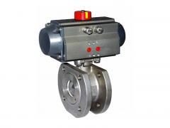 金钢GB 标准气动对夹式薄型球阀